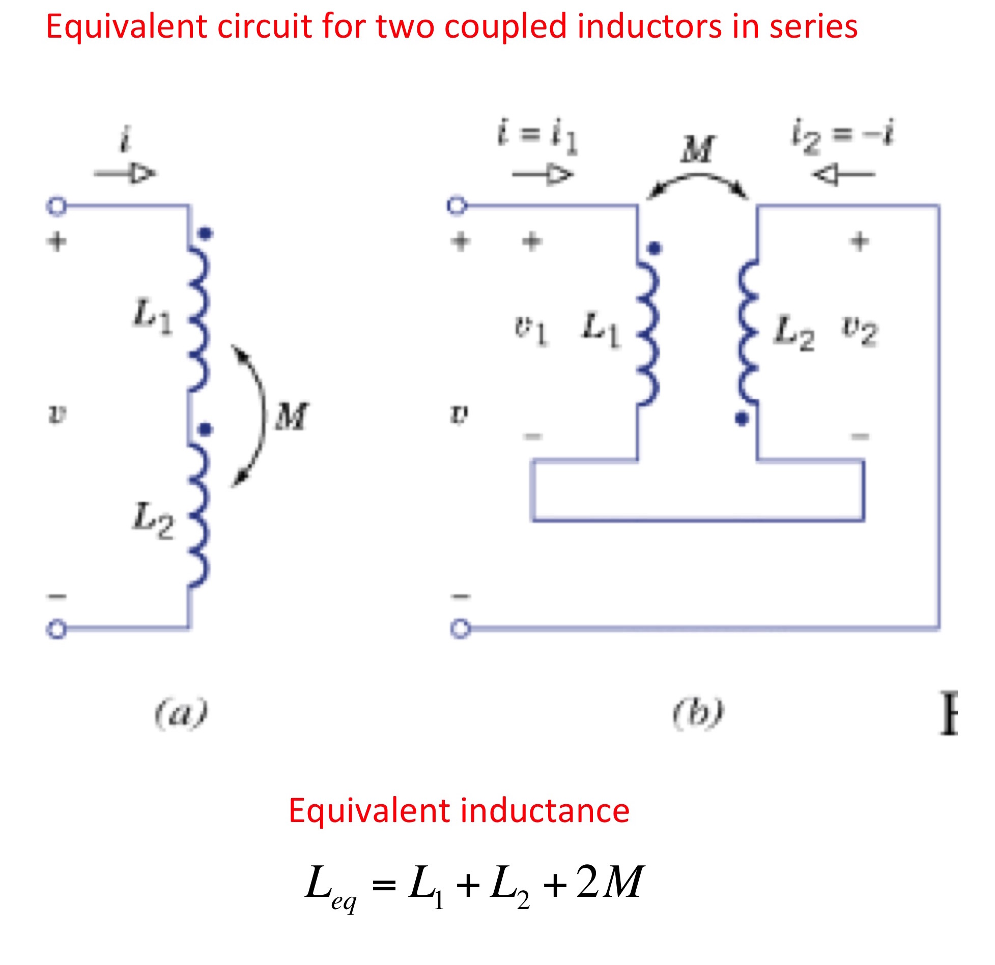 Resonant Coupling Networks Inductor Circuit Diagram Equivalent Of Two Coupled Inductors Connected In Series
