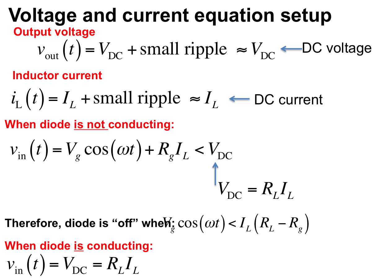 Circuit A Day Simple Rectifier With Shunt Inductor Series Diode Voltage Configuration