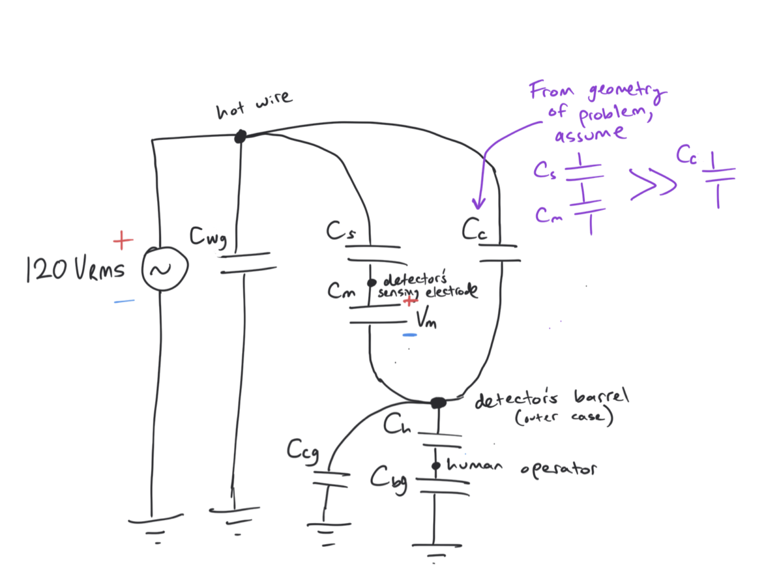 Re-drawn simplified block diagram to look more like a conventional circuit  schematic (cartoon drawings are removed). pic