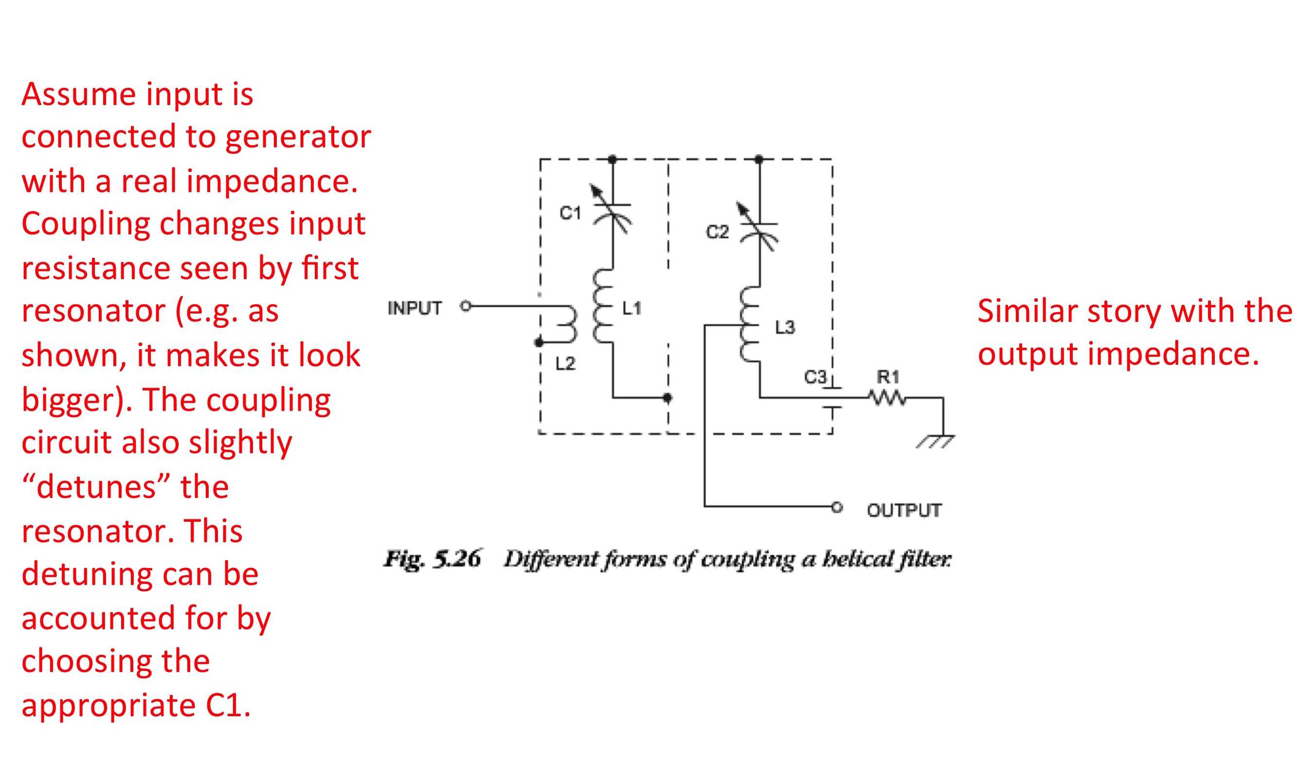 Resonant Coupling Networks Generator Wiring Diagram L1 R1 Pic